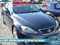 Options:  2008 Lexus Is 250 4Dr Sport Sedan Automatic