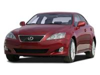 Recent Arrival! Just Reduced! 2008 Lexus IS 250
