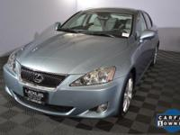 1 owner Lexus IS! Well serviced with Lexus! This RWD