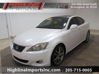 Exterior Color: white, Body: Sedan, Engine: 2.5L V6 24V