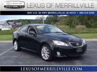 2008 Lexus IS 250, Black, NAVIGATION!, PREMIUM