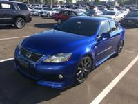 This Very Rare F Series 2008 Lexus IS in Blue Mica