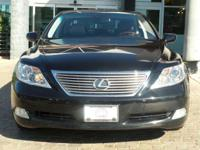 Options:  2008 Lexus Ls 460|Obsidian/Black|V8 4.6L