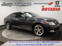 Options:  2008 Lexus Ls 460|Smoky Granite Mica/Light