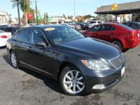 Options:  2008 Lexus Ls 460 Base 4Dr Sedan|Gray|2-Stage