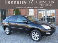 2008 Lexus RX 350 in Black Onyx. *CARFAX ACCIDENT
