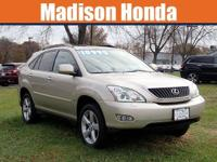 Beige 2008 Lexus RX 350 AWD 5-Speed Automatic with