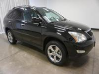2008 Lexus RX Black 350 5-Speed Automatic with
