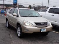 Clean CARFAX. 2008 Lexus RX 350 5-Speed Automatic with