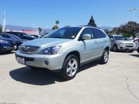 Options:  2008 Lexus Rx 400H Awd 4Dr Hybrid|Silver|What