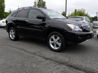 3.3L V6 VVT-i, AWD, Black Cloth. CARFAX One-Owner.