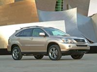 2008 Lexus RX 400h in Breakwater Blue Metallic custom