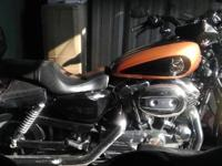 This is a Harley Davidson 1200 custom Low 105th