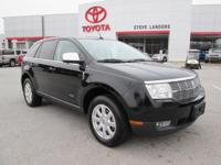 Recent Arrival! 2008 Lincoln MKX Duratec 3.5L V6 Black