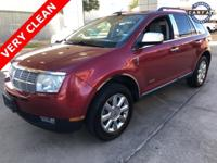 Red 2008 Lincoln MKX FWD 6-Speed Automatic with