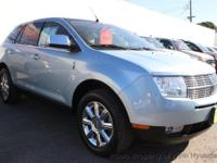 This 2008 Lincoln MKX 4dr Sport Utility 4D features a