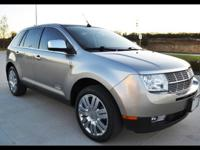 2008 Lincoln MKX FWD Luxury Sport Utility Vehicle 3.5L