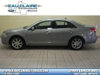 2008 LINCOLN MKZ ALL WHEEL DRIVE POWER MOONROOF and 17