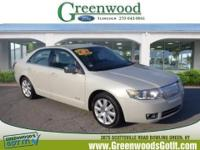 New Arrival! This 2008 Lincoln MKZ *Steering Wheel