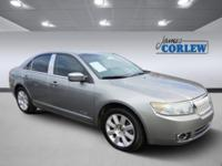Vapor Silver Clearcoat 2008 Lincoln MKZ FWD 6-Speed