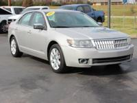 Recent Arrival! This 2008 Lincoln MKZ in Vapor Silver