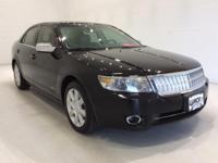 Options:  2008 Lincoln Mkz Base|Black|*Alloy