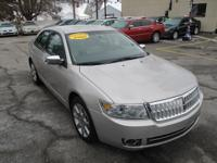 Options:  2008 Lincoln Mkz 4D Sedan Fwd|Silver|Abs
