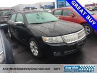Black Clearcoat 2008 Lincoln MKZ Alloy wheels, Heated