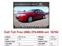 2008 Lincoln MKZ Base 4dr Front-wheel Drive Sedan Sedan