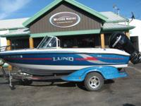 2008 LUND 186GL TYEE, WITH MERCURY 175HP VERADO 4