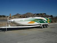 2008 Magic 28' Deck Boat, One owner in mint condition,