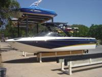 2008 Malibu 247 LSV Sunscape, Indmar 383 Hammerhead,