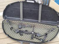 2008 Martin Compound Bow with case and release. Ready