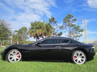 THIS 2008 MASERATI GRAN TURISMO HAS A ABSOLUTELY