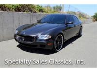 This 2008 Maserati Quattroporte GTS (Stock # B1735) is