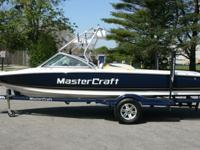 2008 Mastercraft ProStar 197 with 210hrs.Powered with