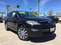 Options:  2008 Mazda Cx-9|Black|3Rd Seat **Tinted