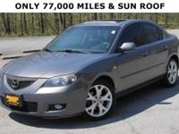 Sunroof / Moonroof. Right car! Right price!