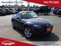 Alloy Wheels, CD Player, Heated Mirrors, Miata Sport,