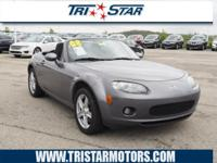 This 2008 Mazda MX-5 Miata is complete with
