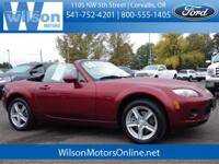 Come test drive this 2008 Mazda MX-5! Fun. From the top