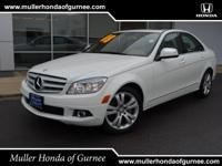 Options:  2008 Mercedes C-Class 3.0L Luxury|Arctic