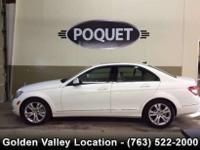 This 2008 White C 300 4 Matic All Wheel Drive Luxury