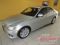 This C300 4Matic comes with a 100,000 mile Mercedes