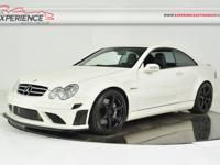 This is a Mercedes-Benz, CLK63 AMG BLACK SERIES for