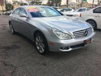 This SILVER MERCEDES CLS550 IS SUPER CLEAN. IT comes
