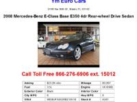 2008 Mercedes-Benz E-Class Base E350 4dr Rear-wheel