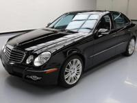 This awesome 2008 Mercedes-Benz E-Class comes loaded