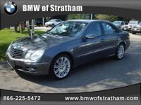 Ira BMW presents this 2008 MERCEDES-BENZ E-CLASS 4DR