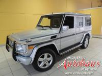 This G500 comes with a 100,000 mile Mercedes Benz